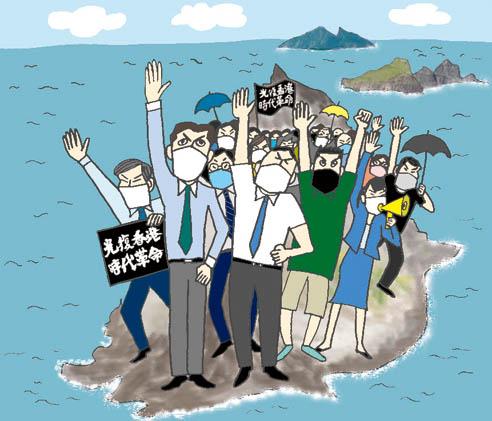 Newsweek日本版20209.8号早坂隆さんのコラム「たかがジョーク_されどジョーク」#11にイラストレーションを添えています。